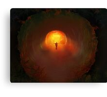 welcome to hell  Canvas Print