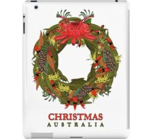 Christmas Australia Wildflower Wreath iPad Case/Skin