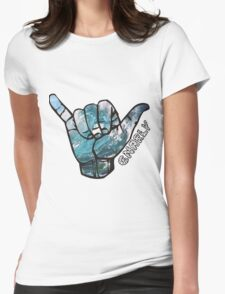gnarly Womens Fitted T-Shirt