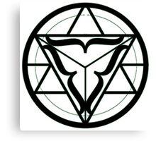 Balance/Unity Alchemy circle Canvas Print