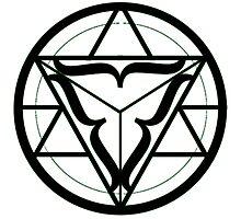 Balance/Unity Alchemy circle Photographic Print