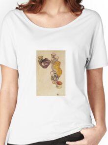 Egon Schiele - Peasants Jug 1918 Women's Relaxed Fit T-Shirt