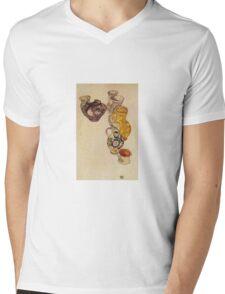 Egon Schiele - Peasants Jug 1918 Mens V-Neck T-Shirt