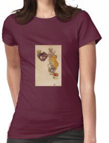 Egon Schiele - Peasants Jug 1918 Womens Fitted T-Shirt