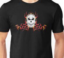 Tribal Vampire Skull Unisex T-Shirt