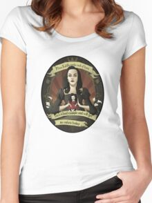Drusilla - Buffy the Vampire Slayer Women's Fitted Scoop T-Shirt