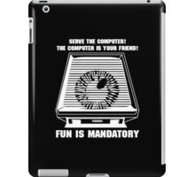 Paranoia computer iPad Case/Skin