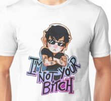 Alec Lightwood- i'm not your bitch Unisex T-Shirt