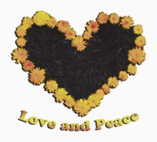 Dandelion love and peace One Piece - Short Sleeve