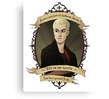 Spike - Buffy the Vampire Slayer/Angel Canvas Print