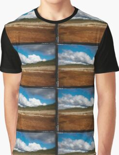 Paysage double-montage Graphic T-Shirt