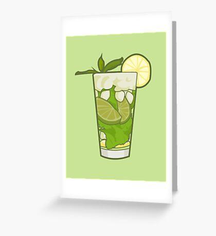 Mojito Greeting Card
