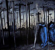 blue birds by glennbrady