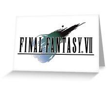 -FINAL FANTASY- Final Fantasy VII Greeting Card