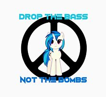 Vinyl Scratch - Drop the bass not the bombs Unisex T-Shirt