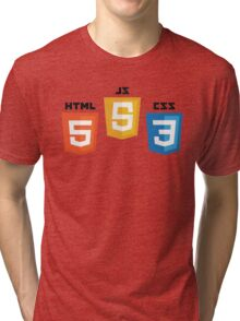 Web Logos Tri-blend T-Shirt
