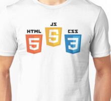 Web Logos Unisex T-Shirt