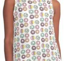 Donuts Contrast Tank