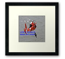 How to show Love Framed Print