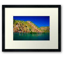 Rocky Riverside Framed Print