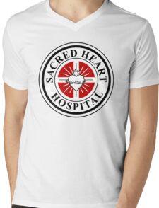 Sacred Heart Hospital Mens V-Neck T-Shirt