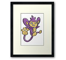 Aipom Pokemon  Framed Print