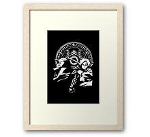 white alchemist - ed & al Framed Print