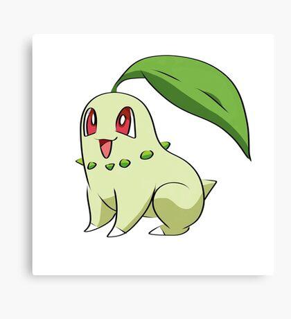 Chikorita Pokemon Canvas Print