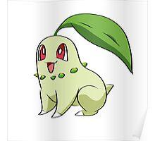 Chikorita Pokemon Poster