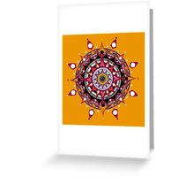 Mandala 018 Greeting Card