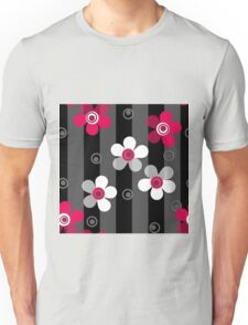 Floral seamless pattern. Unisex T-Shirt