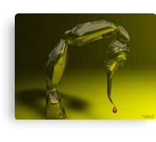 Scorpoin Sting Canvas Print
