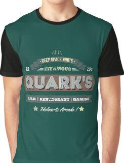Quarks Bar retro design Graphic T-Shirt