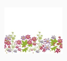 Floral seamless pattern. Baby Tee