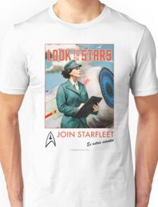 Join Starfleet - Vintage Style Retro Recruitment T-shirt Unisex T-Shirt