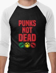 punks not dead Men's Baseball ¾ T-Shirt