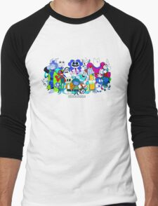 The Blue Undertale Men's Baseball ¾ T-Shirt