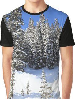 Snow Trees Graphic T-Shirt