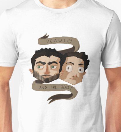 Sterek - Beauty & The Beast Unisex T-Shirt
