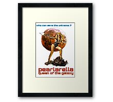 pearlarella, queen of the galaxy Framed Print