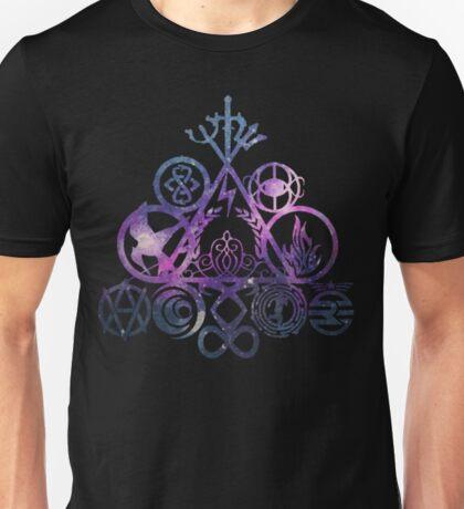 all your book fandoms v4 Unisex T-Shirt