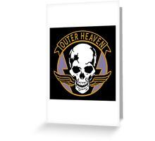 OUTER HEAVEN - METAL GEAR (2) Greeting Card