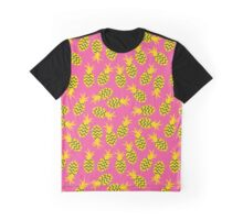 Pineapples colorful seamless pattern.  Graphic T-Shirt