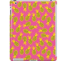 Pineapples colorful seamless pattern.  iPad Case/Skin