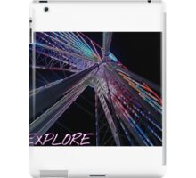 Explore new heights iPad Case/Skin