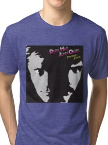 Daryl Hall & John Oates - Private Eyes Tri-blend T-Shirt