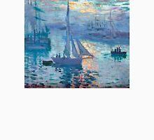 Sunrise - Marine - Claude Monet - 1873 Unisex T-Shirt