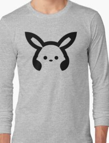 Pikachu headphones  Long Sleeve T-Shirt