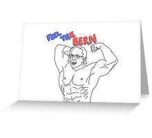 Feel the Bern ~ Bernie sanders bodybuilder  Greeting Card