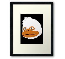 The Duck Himself Framed Print